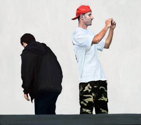 Artist Chris Stevens