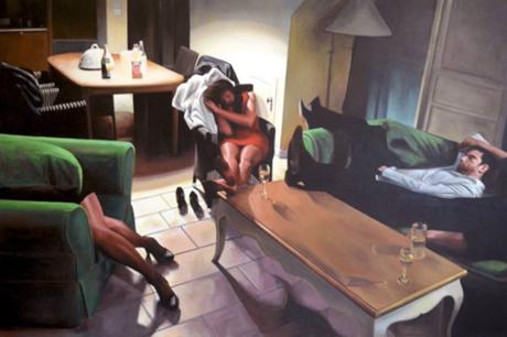 Artist Jerome Romain